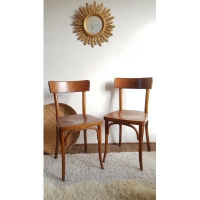 Paire de chaises bistrot - Thonet