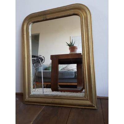 Miroir doré ancien -Louis Philippe