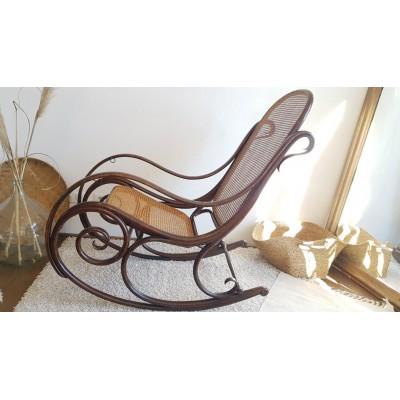 Fauteuil Rocking chair modèle n°1 par M.THONET