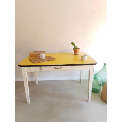 Table de cuisine années 60