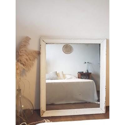 Miroir ancien 125 X 127 XIX eme