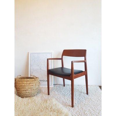 Fauteuil scandinave DLG Niels O. Moller 1960 - Made in Denmark