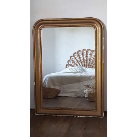 Grand miroir Louis Philippe 130x 89