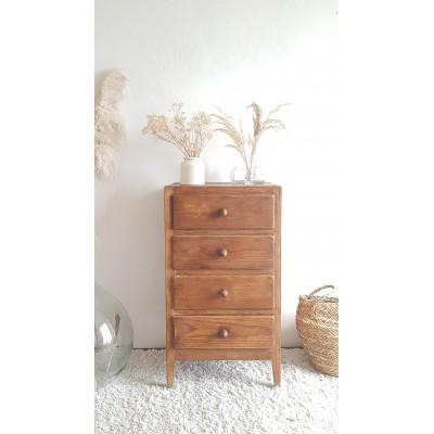 Chiffonnier vintage  - 4 tiroirs