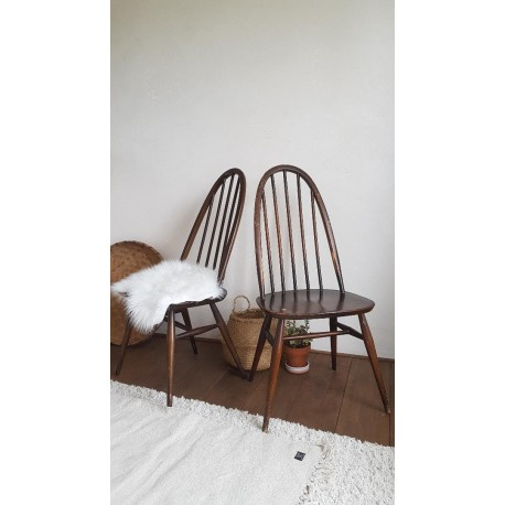 """Paire de """"quaker"""" chaises - Ercol"""
