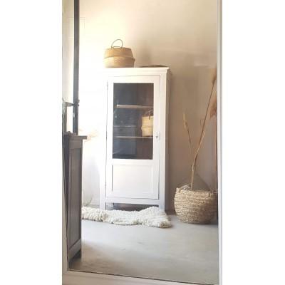 Armoire parisienne vitrée ancienne