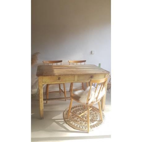 Table de ferme 120 x 70