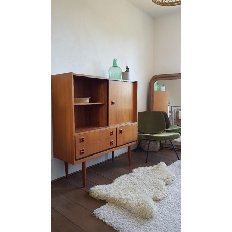 buffet scandinave vintage circa 1960 the french cactus. Black Bedroom Furniture Sets. Home Design Ideas