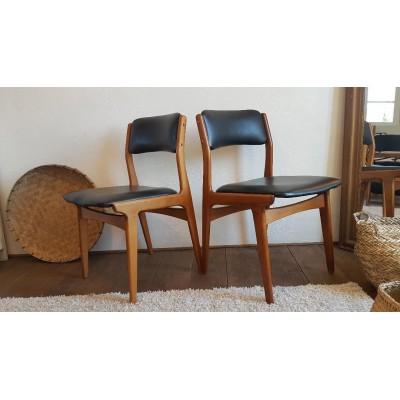 4 ou Paires de chaises scandinaves - 1960