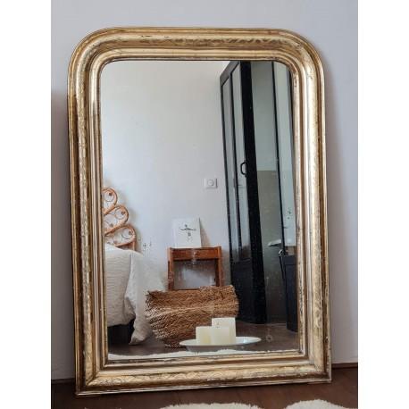 Miroir Louis Philippe ancien 109 x 77