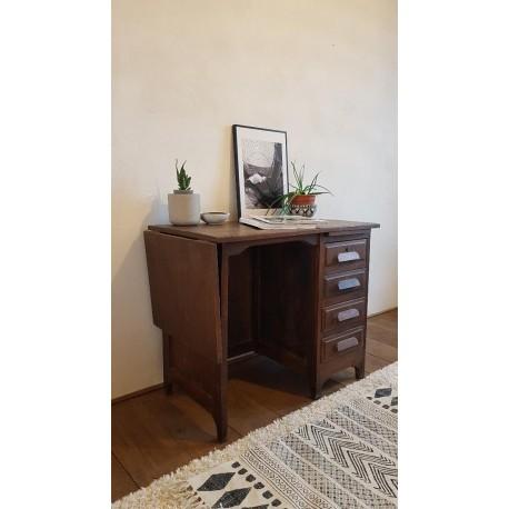 Bureau bois vintage- circa 1960